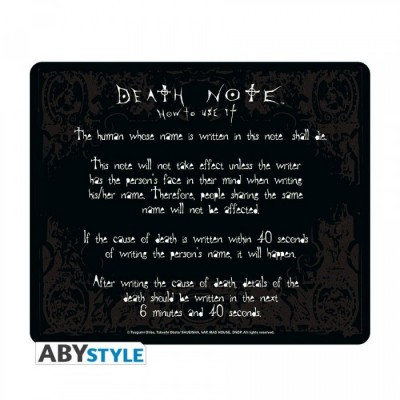 "Tapis de Souris - ""Rules"" - Death Note"