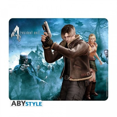Tapis de Souris - Resident Evil - Leon & Ashley
