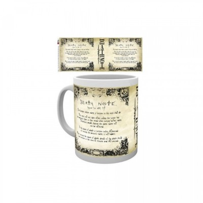Mug - Death Note Rules - Death Note