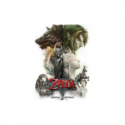 Zelda Twilight Princess HD - Collector CD Box (3 CD) - Original Soundtrack + 1st press Badge