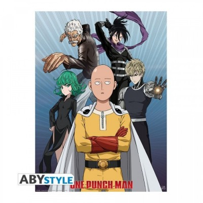 Poster - Groupe - One Punch Man - 52 x 38 cm