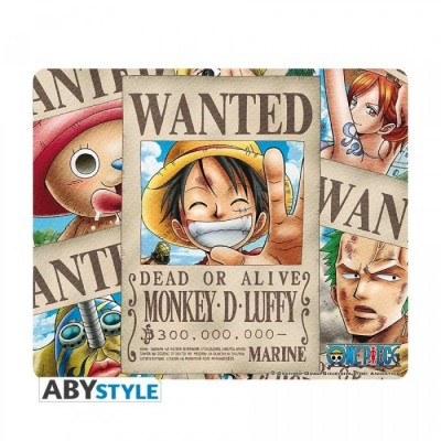 Tapis de Souris - One Piece - Wanted Pirates