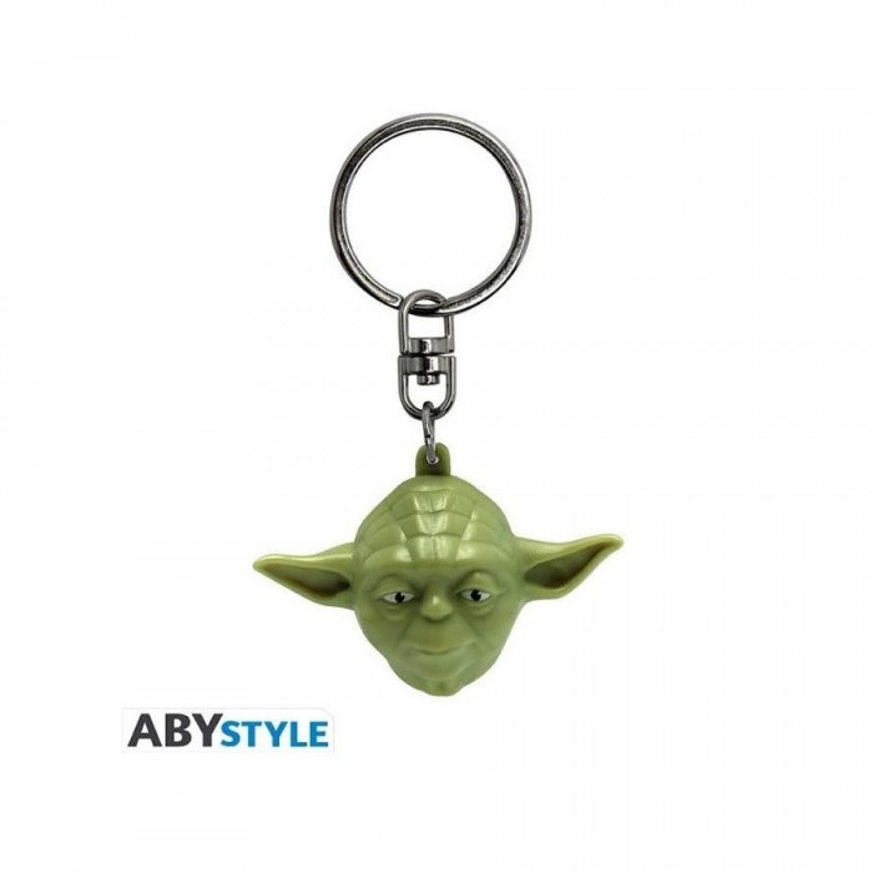 Porte-Clef 3D PVC - Yoda - Star Wars
