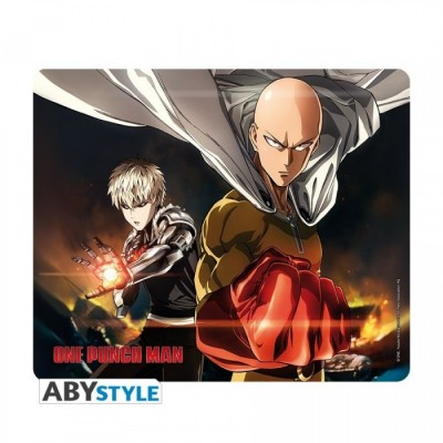 Tapis de Souris - One Punch Man - Saitama & Genos