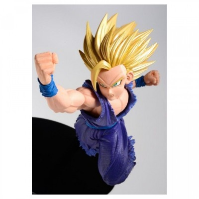 Sculpture Big - Dragon Ball - Collection 17 - Gohan Super Saiyan Attack - 16cm