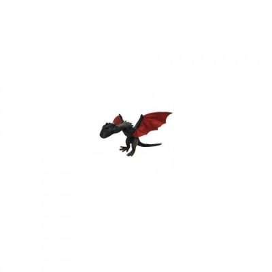 Drogon - peluche - Game of Thrones - 35 cm