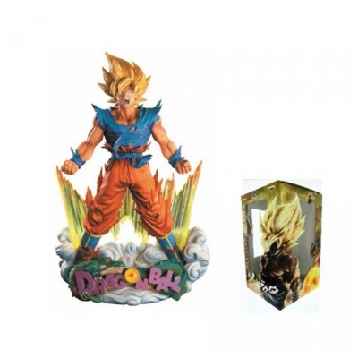 "Super Master Stars ""Diorama"" - Dragon Ball - The Son Goku Super Saiyan - 18cm"