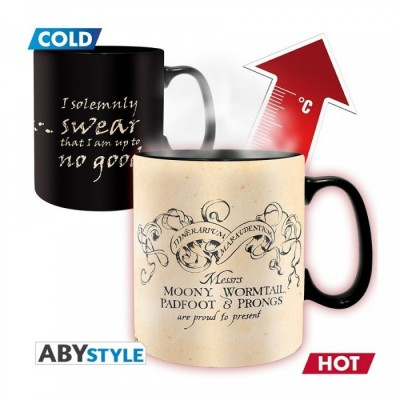 Mug - Harry Potter - Thermo Réactif - Maraudeur