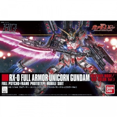High Grade UC - Gundam - Full Armor Unicorn Red Ver. - 1/144