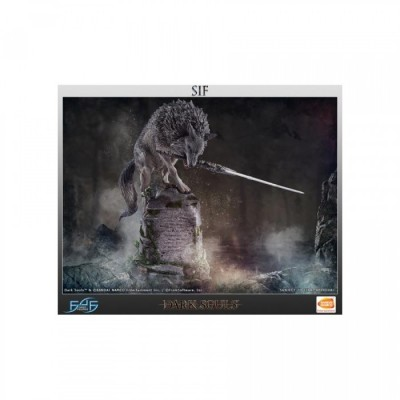 Sif, The Great Grey Wolf - résine F4F - Dark Souls