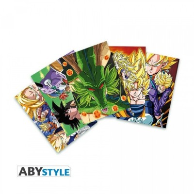 Cartes Postales - Set1 - Dragon Ball Z - 14.8 X 10.5cm