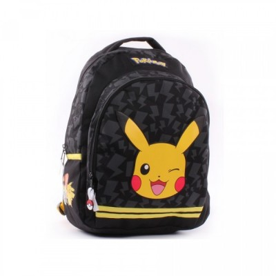Sac à Dos Souple - Pikachu clin d'oeil - Pokemon Stronger - Pokemon
