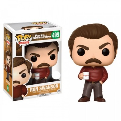 Ron Swanson - Parks and Recreation (499)  - Pop Television