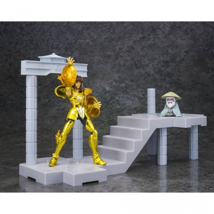 Libra Dokho - Guidance of the Palace of the Scale - Saint Seiya - Myth Cloth - Panoramation - 10cm