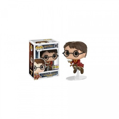 Harry avec balai - Harry Potter (31) - Pop Movies- Exclusive