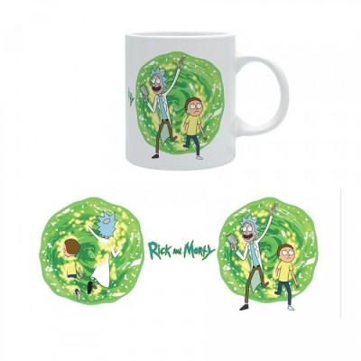 Mug - Portal - Rick and Morty - 320ml