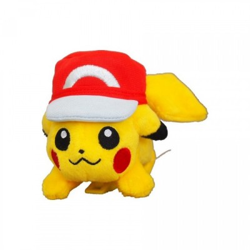 Pikachu de Kalos - Casquette avec pinces (Niv. 17)  - Pokemon Sun & Moon - 10cm