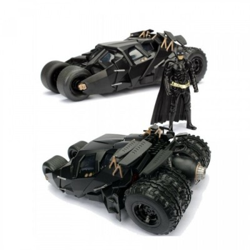 Batmobile métal avec figurine - Batman The Dark Knight (2008) - 1/24 scale