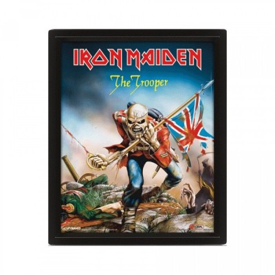 Poster - The Trooper - Iron Maiden - 3D - 26 x 20cm