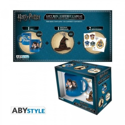 "Gift Pack Harry Potter - Mug 320ml + Porte-clés PVC + Sticker ""Harry Potter"" *"