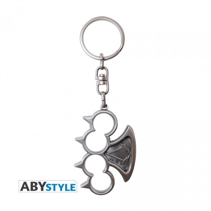 Porte-Clef 3D Métal - Syndicate - Assassin's Creed