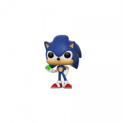 Sonic with Emerald - Sonic (284) - Pop Game