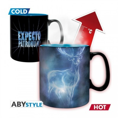 Mug - Harry Potter - Thermo Réactif - Patronus - 460ml