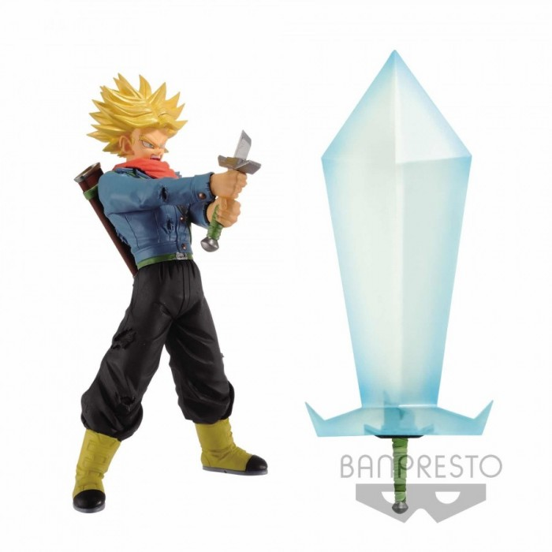Trunks SS2 & Final Flash Hope (pack de 2) - Dragon Ball Super - Figurine - 24cm
