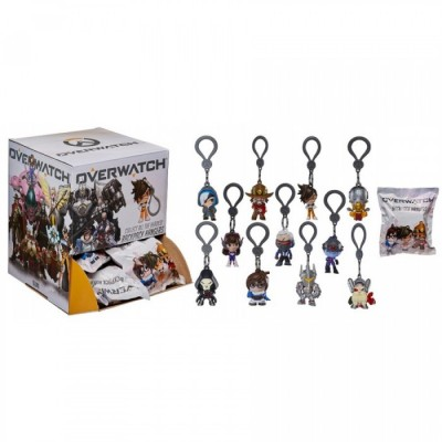 Backpack Hangers Mystery Bags - Overwatch - Porte-clés 5cm - (x24)