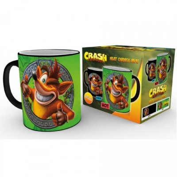 Mug - Crash - Thermo Réactif - Crash Bandicoot