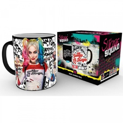 Mug - Daddy's Li'l Monster - Thermo Réactif - Suicide Squad