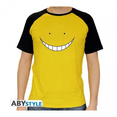 T-shirt - Assassination Classroom - Koro Smile jaune - XL