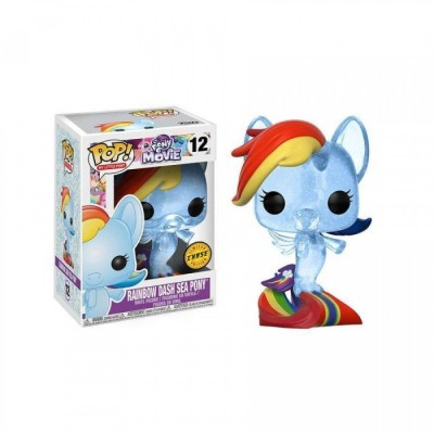 Rainbow Dash Sea Pony - My Little Pony (Chase 12) - POP Movies