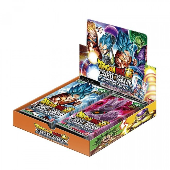 "JCC - Booster ""Galactic Battle"" B01 - Dragon Ball Super Serie 1 (FR) - (24 boosters)"