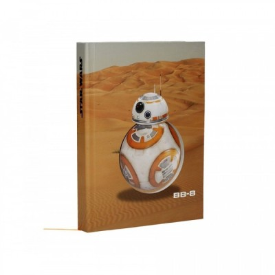 Carnet de Notes (Light-up) - BB-8 - Star Wars - A5 (21 x 14.9cm)