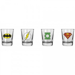 Verres à liqueur (shot) - Logos - DC Comics