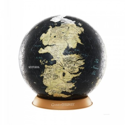 Game of Thrones - Puzzle - Globe Unknown World (60 pièces)