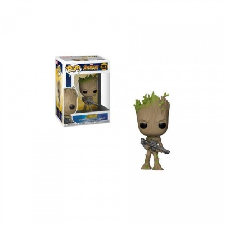 Groot w/ Weapon - Avengers Infinity War (293) - POP Movies