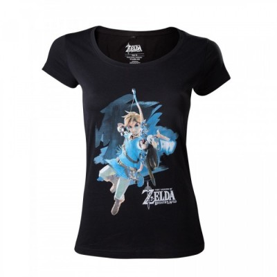 T-shirt - Zelda - Breath of the Wild - Link with Bow - Women's T-shirt - XL