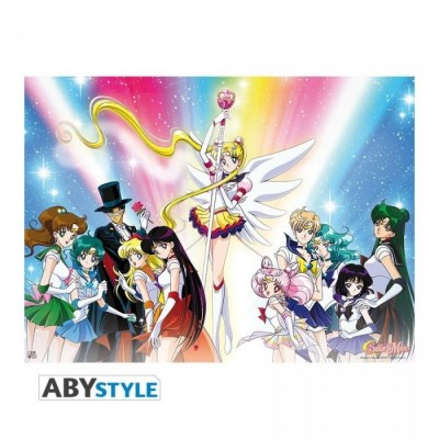 "Poster - Sailor Moon - ""Rainbow"" - (52x38)"