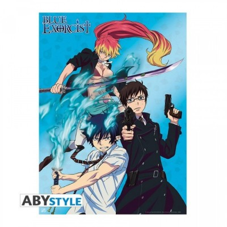 "Poster - Blue Exorcist - ""Rin, Yukio, et Shura"" - (52x38)"