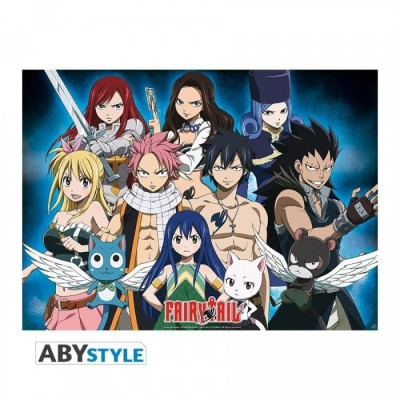 """Poster - Fairy Tail - """"Groupe"""" - (52x38)"""