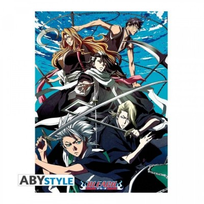 """Poster - Bleach - """"Groupe Soul Society"""" - (52x38)"""