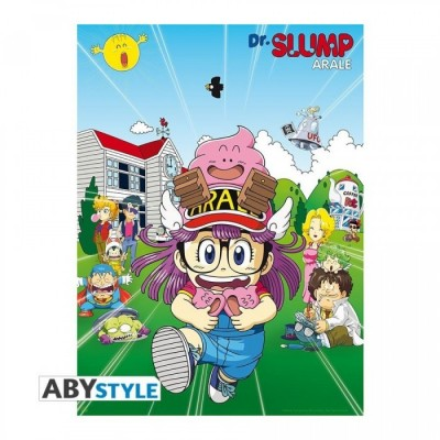 "Poster - Dr Slump - ""Penguin Village"" - (52x38)"