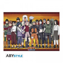 "Poster - Naruto Shippuden - ""Ninjas Konoha"" - Roulé filmé (91.5x61cm)"