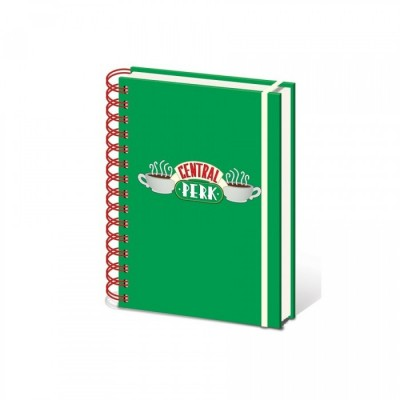 Carnet de Notes Spirales - Friends - Central Perk - A5