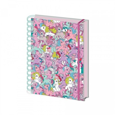 Carnet de Notes Spirales - My Little Pony Retro - Ponies - A5