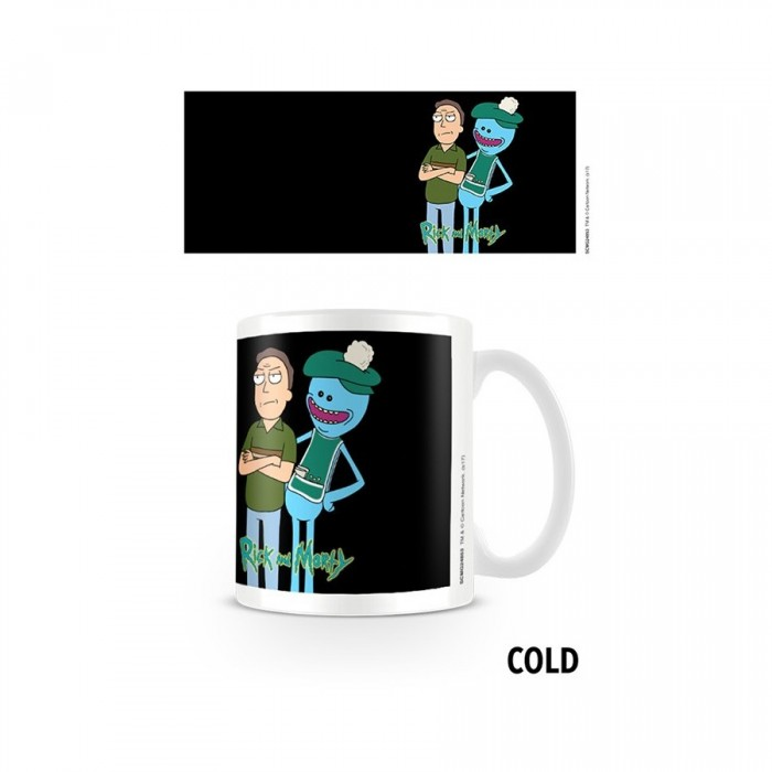 Mug Thermo Réactif - Rick et Morty - Jerry and Mr. Meeseeks - 315 ml