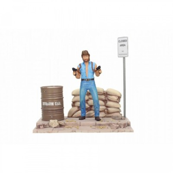 "Figurine - Chuck Norris - Deluxe Set Figure + Diorama ""Though Guy"""