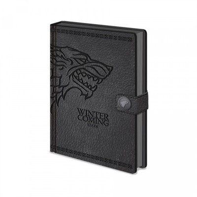 Carnet de Notes - Stark - Game Of Thrones - A5 (21 x 14.9cm)